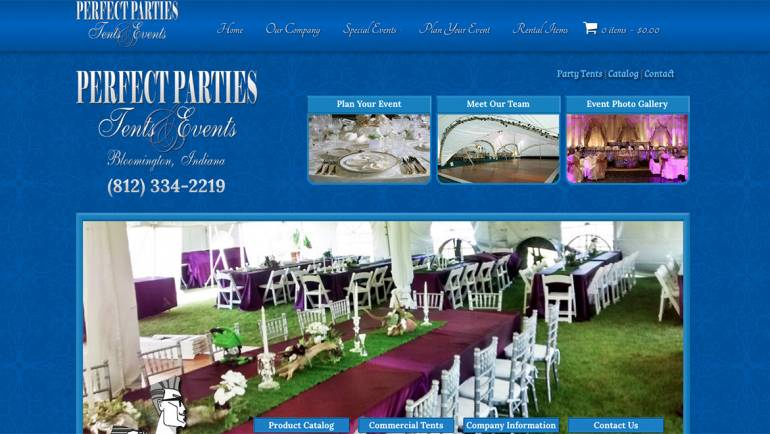 Perfect Parties Tents & Events